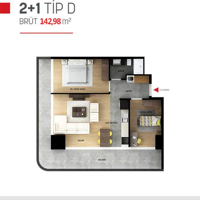 مشروع في منطقة بيليك دوزو الأكثر رواجاً للعيش في اسطنبول