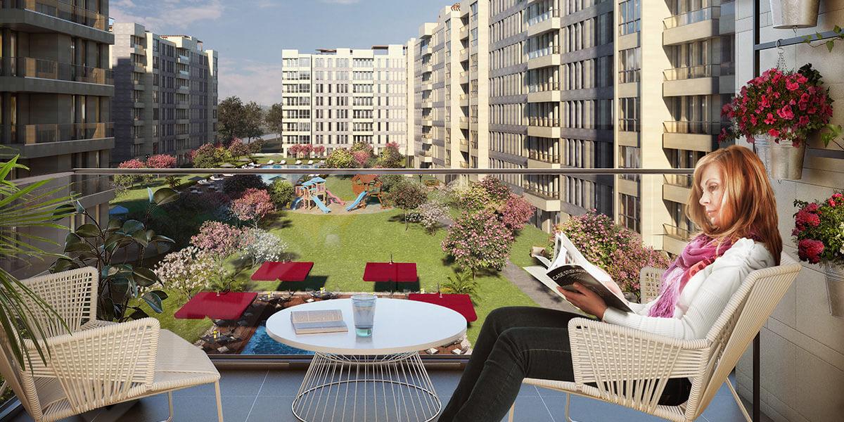 مشروع سكني في اسطنبول بتصميم إيطالي مختلف