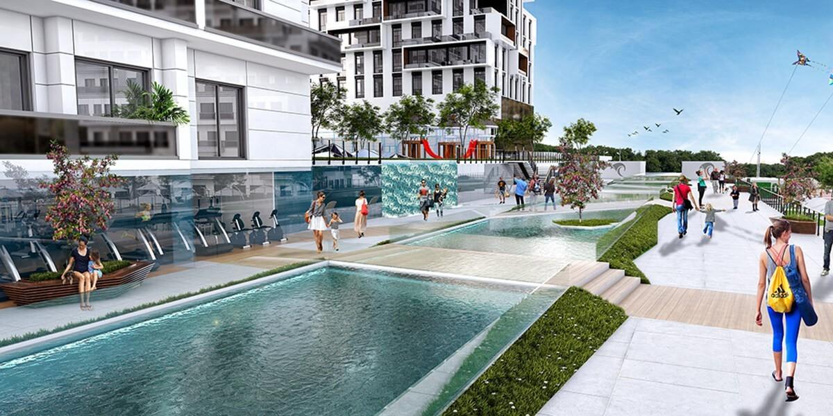 مشروع سكني في احد اهم الاحياء في اسطنبول الاوروبية