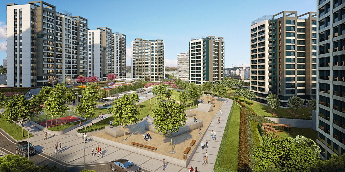 Residential project guaranteed by the Turkish government