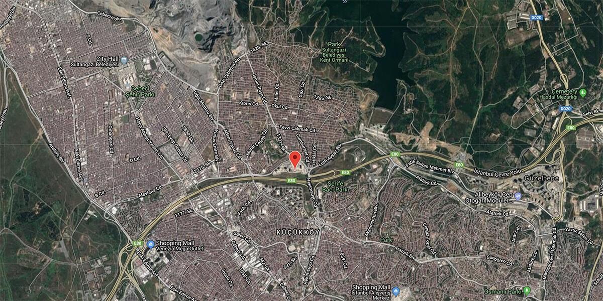 مشروع في واحد من المواقع الأكثر قيمة في اسطنبول