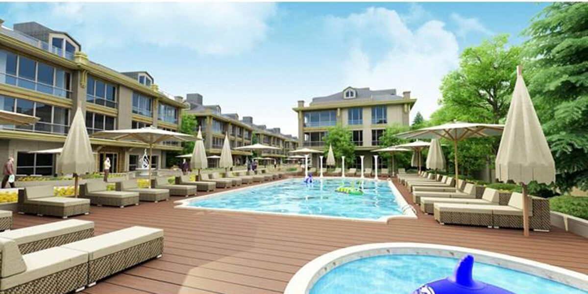 The project gives you the opportunity to enjoy a refreshing natural air
