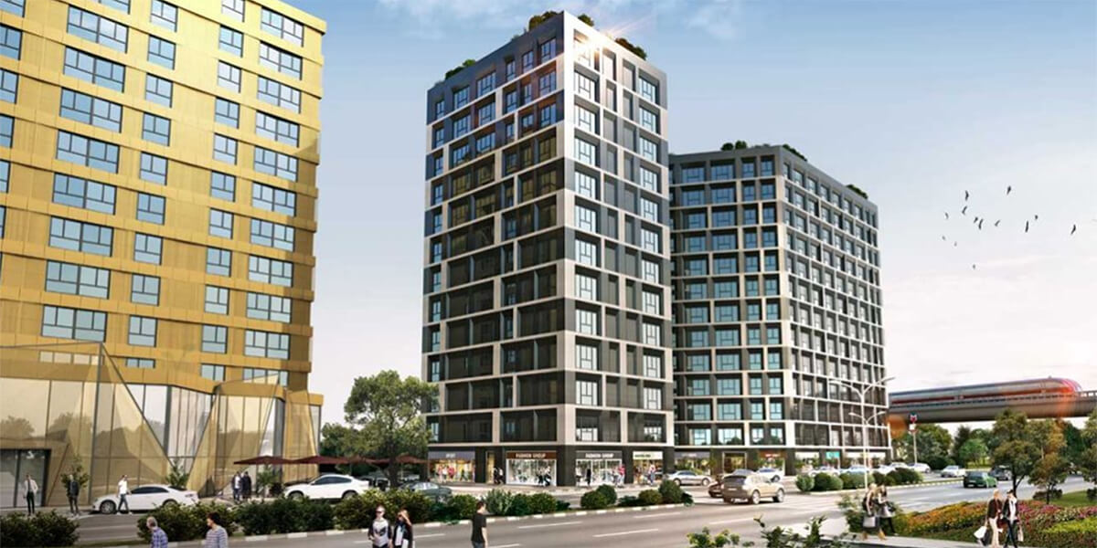 Distinguished project with luxury residences and luxury services