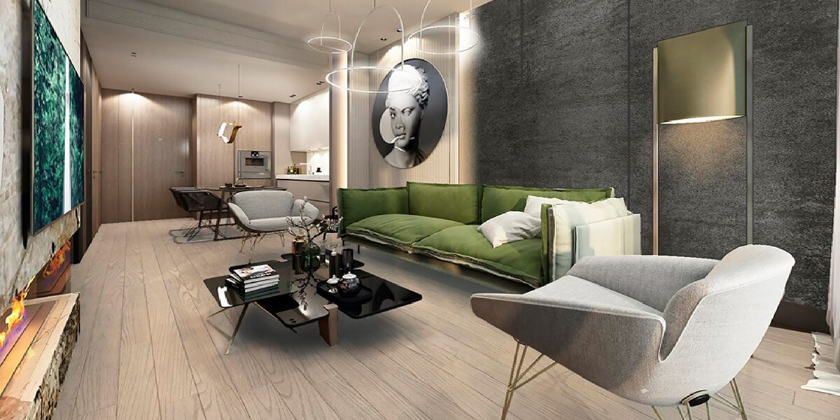 Project in the highest areas of Istanbul Paradise of life
