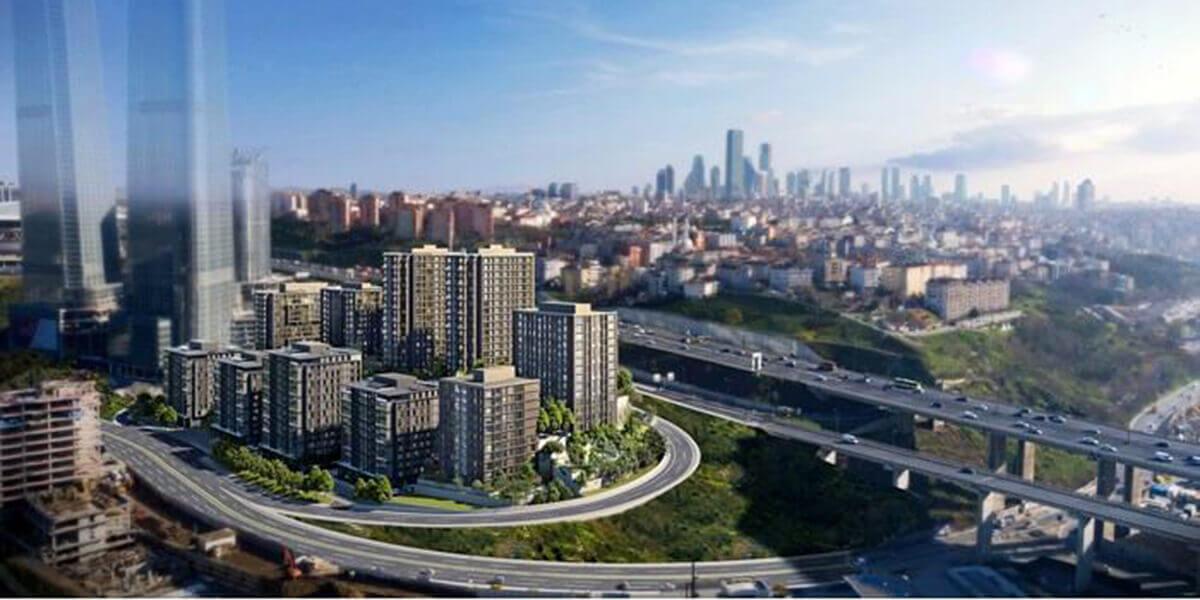 مشروع سكني بمنطقة سيرا تبه بالقرب من تقسيم