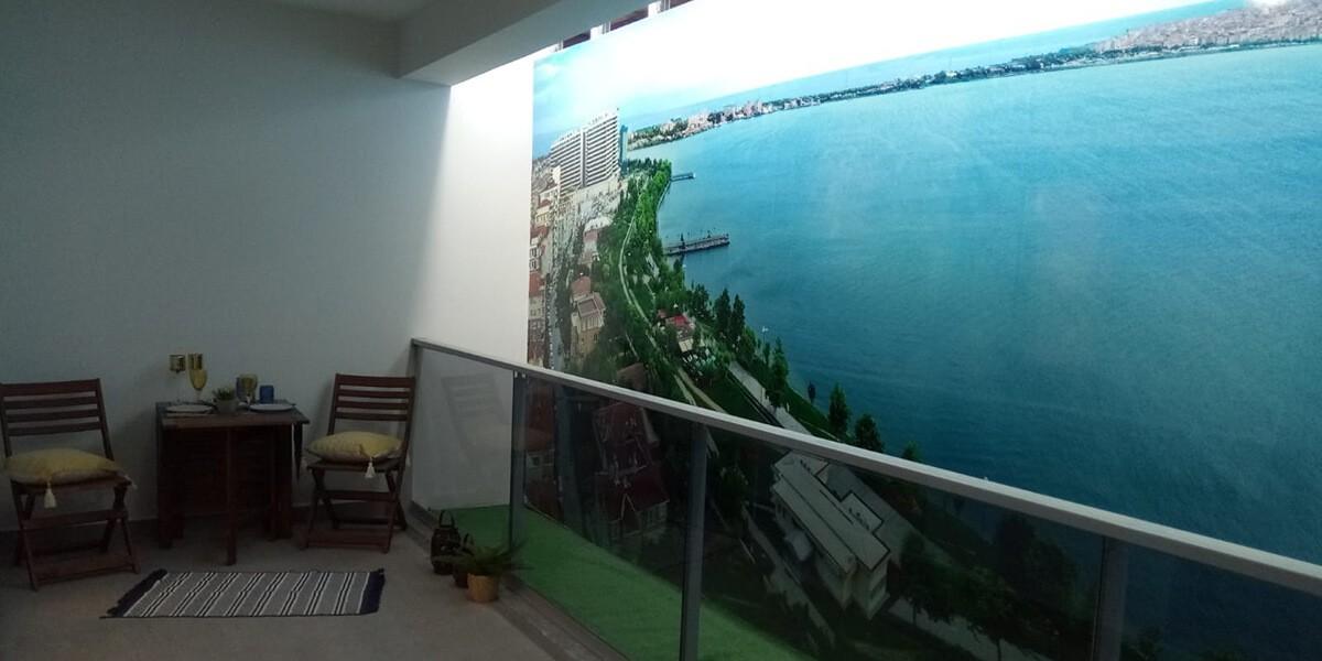 مشروع باطلالة مباشرة على قناة اسطنبول والبحيرة والبحر