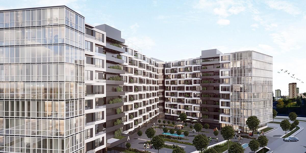 خيار الاستثمار الذكي في مشروع سكني