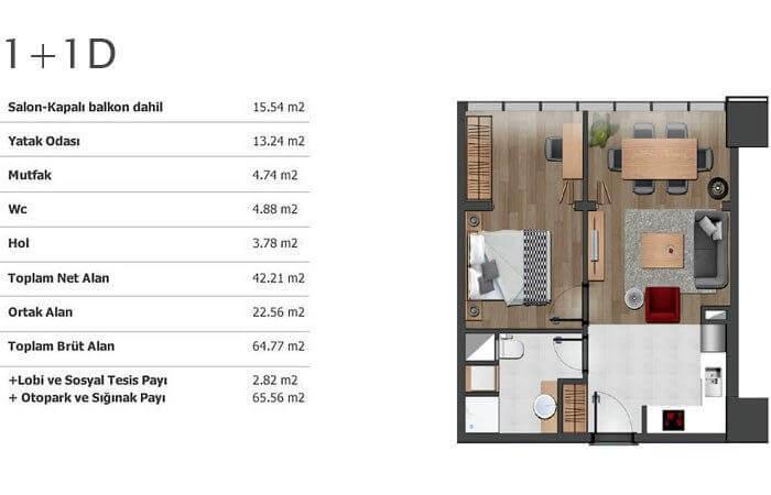 مشروع استثماري سكني في اهم المناطق الحيوية بإسطنبول