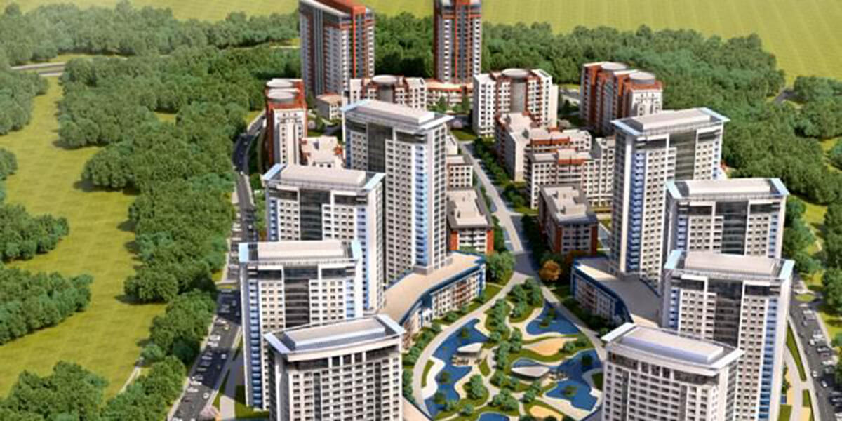The largest residential projects in the region of kucukcekmece