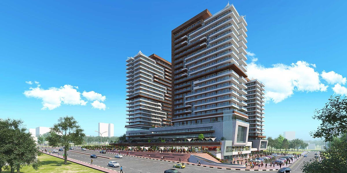 Residential project with first class smart apartments