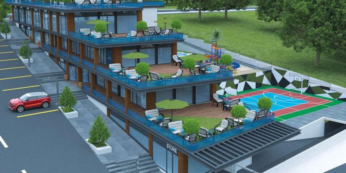 مشروع سكني بالقرب من جميع وسائل المواصلات العامة