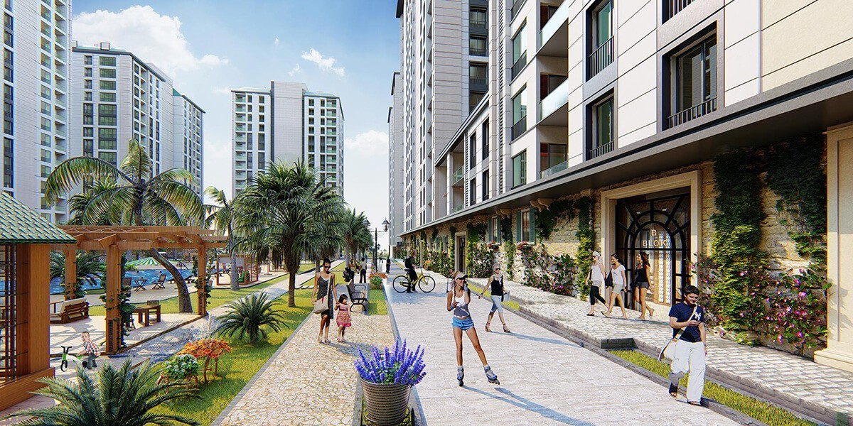 A great project that gives you the pleasure of living in the city center