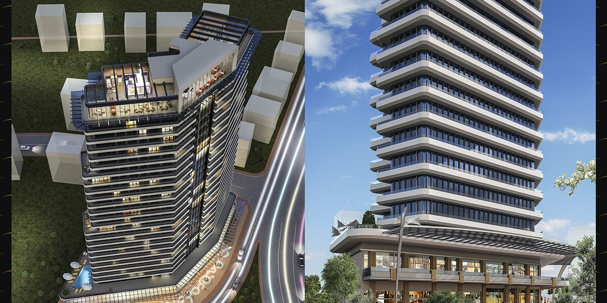 The project is built in the concept of a 7 star hotel
