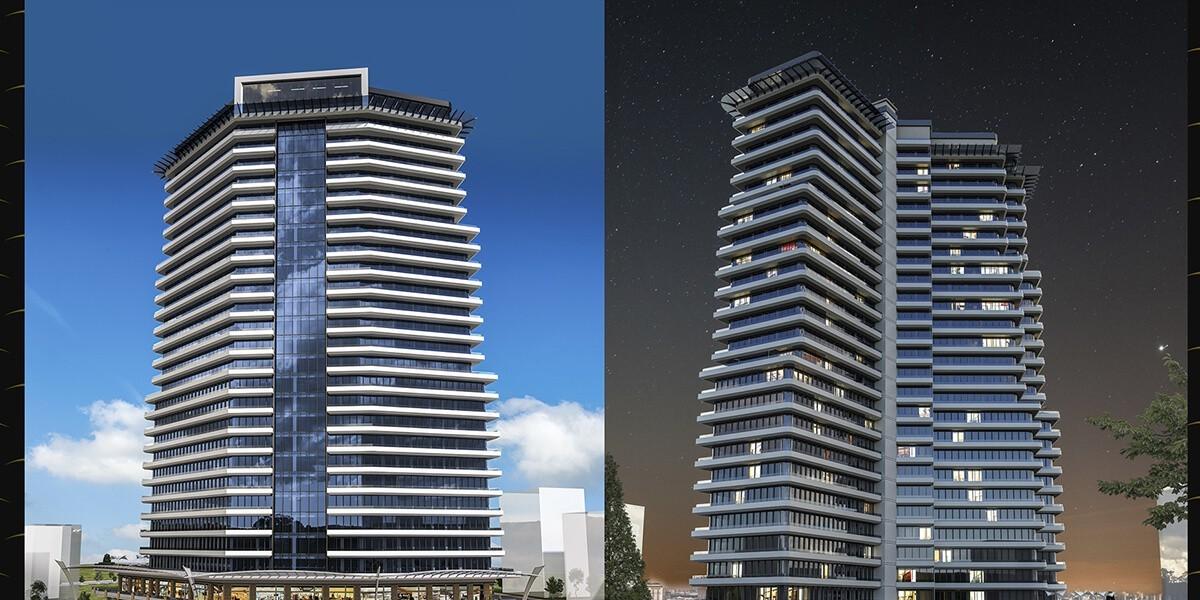مشروع بني في مفهوم فندق 7 نجوم