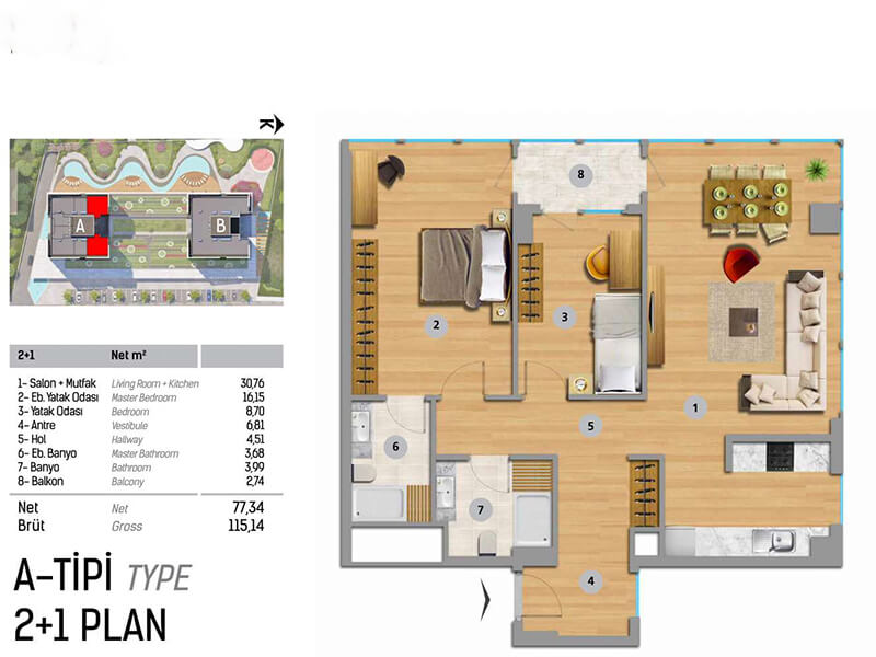 Residential project provides all aspects of life