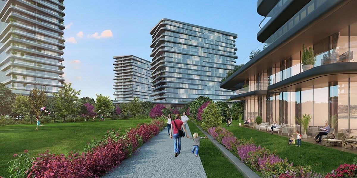 مشروع سكني بتصميم معماري غير مألوف