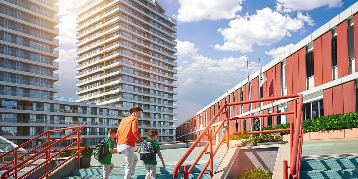 مشروع سكني فندقي مفعمة بالحياة