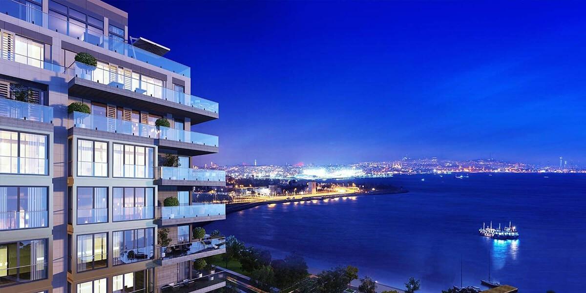 مشروع في وسط المنطقة البحرية الجديدة في إسطنبول