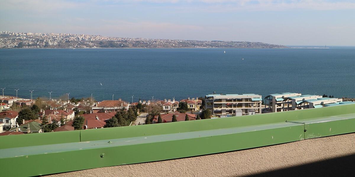 مشروع نادر يدمج اللون الأخضر والأزرق معًا في اسطنبول