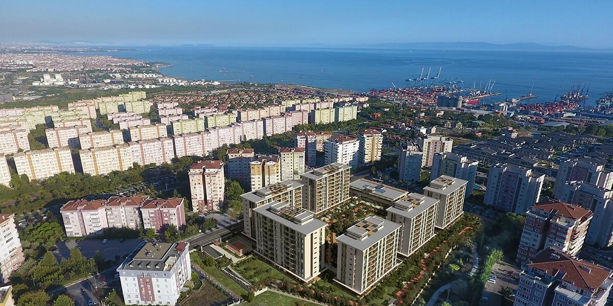 مشروع رائع في منطقة بيليك دوزو اسرع المناطق نمواً