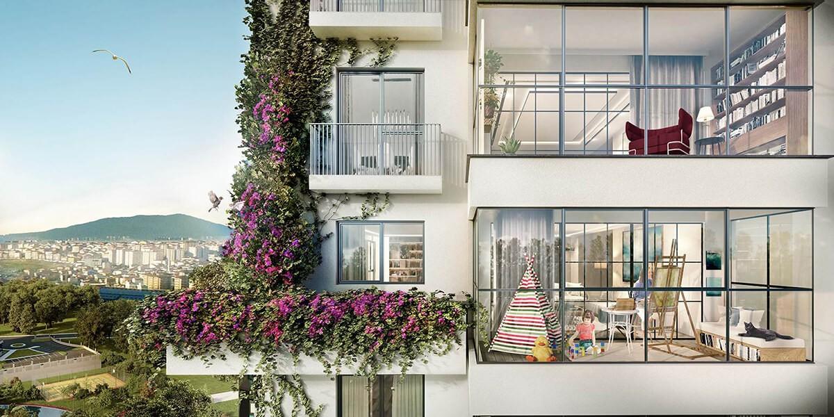 الطبيعة والهندسة المعمارية مجتمعة في اسطنبول الاسيوية