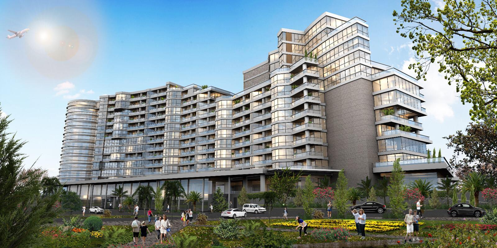 مشروع استثماري مربح و سكني مريح ذو خدمات فندقيه عاليه | BR-238