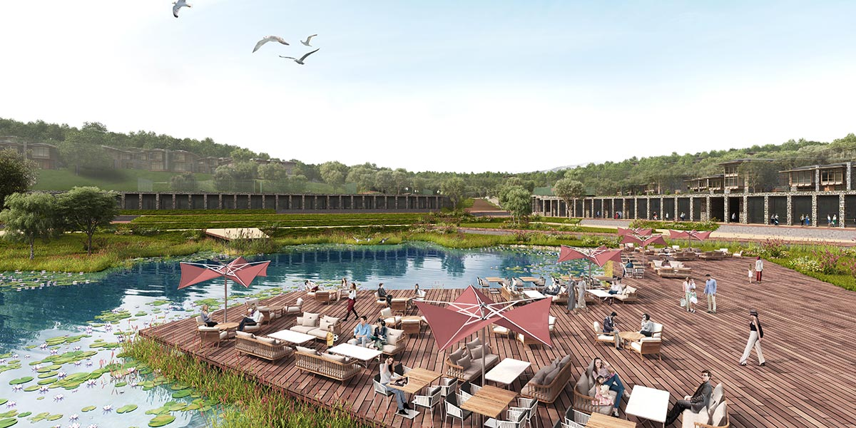 The largest luxury villa project in Istanbul