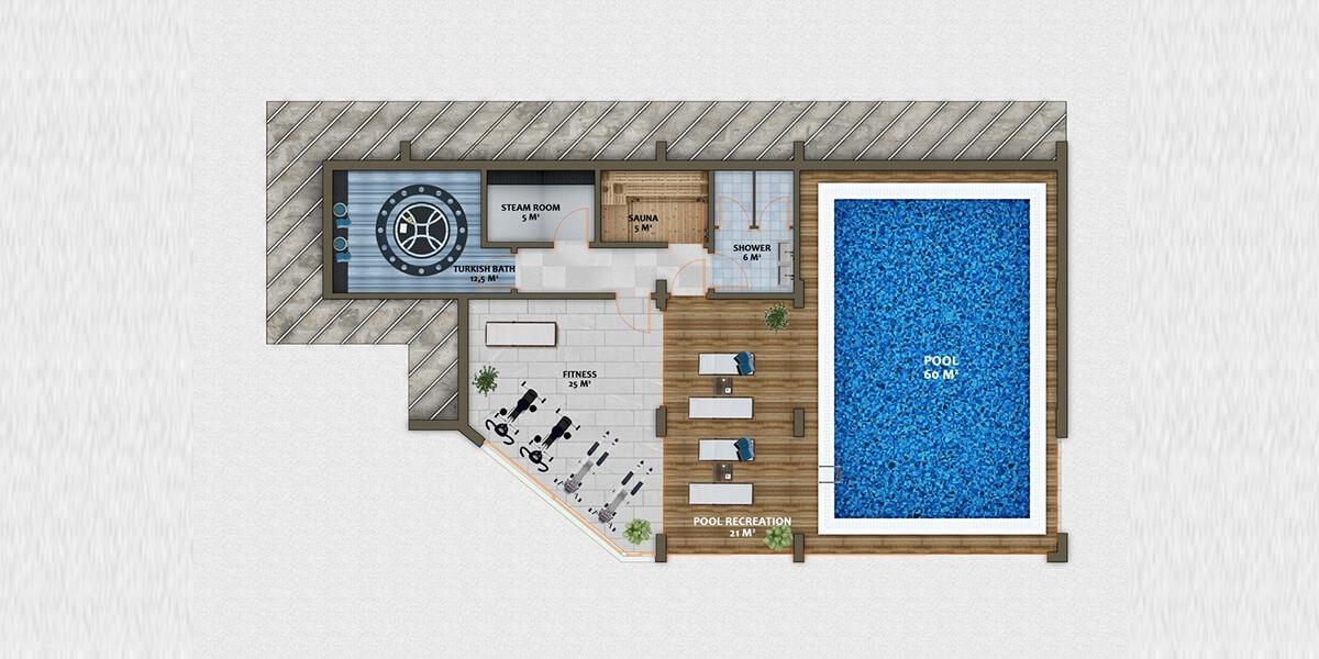Alanya villas project