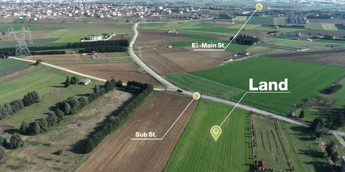 Agricultural land in Istanbul Silvery T-1-21