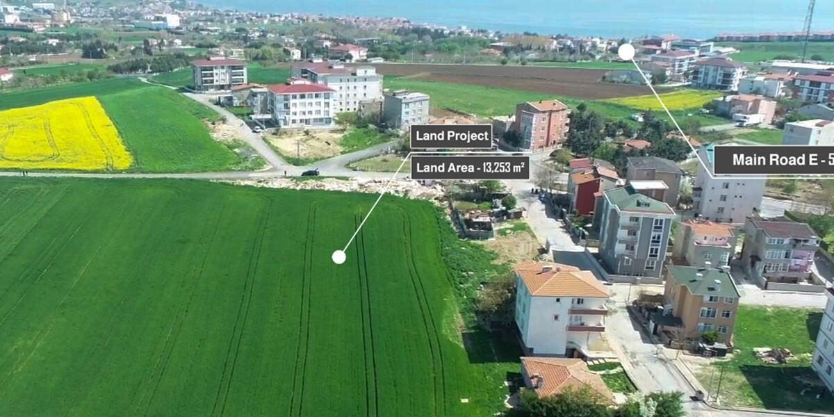 أرض سكنية في اسطنبول سيلفري K-1-16