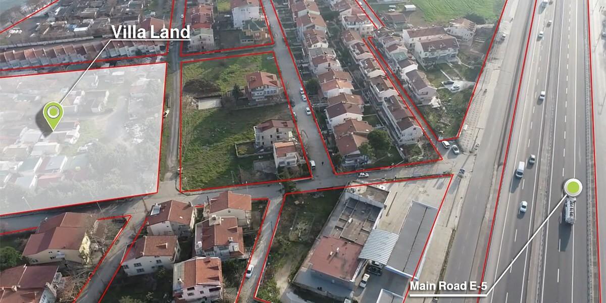 Land Villa imarlı Zero sea in Silvery L-1-101
