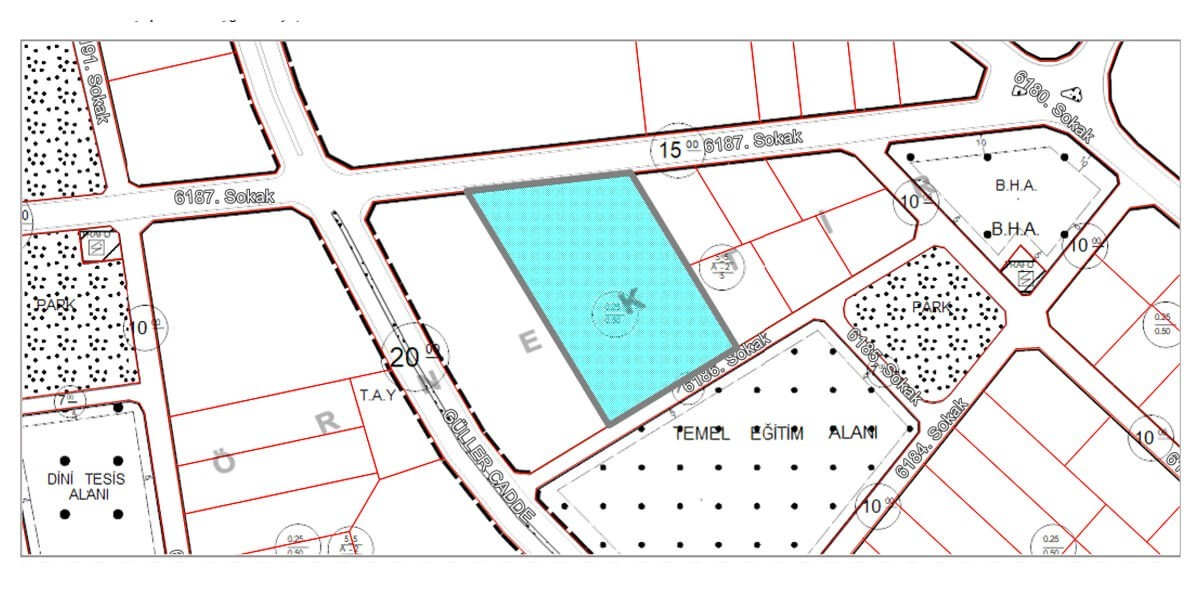 Land  Villa imarlı for sale with natural view L-1-3