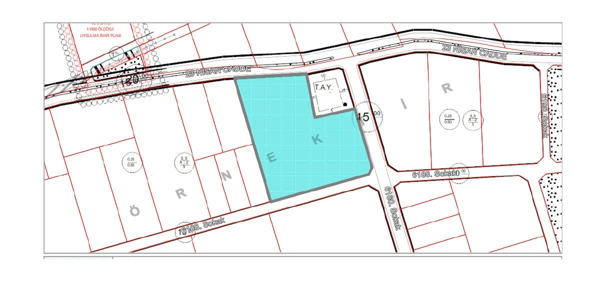 Land  Villa imarlı for sale with natural view L-1-4