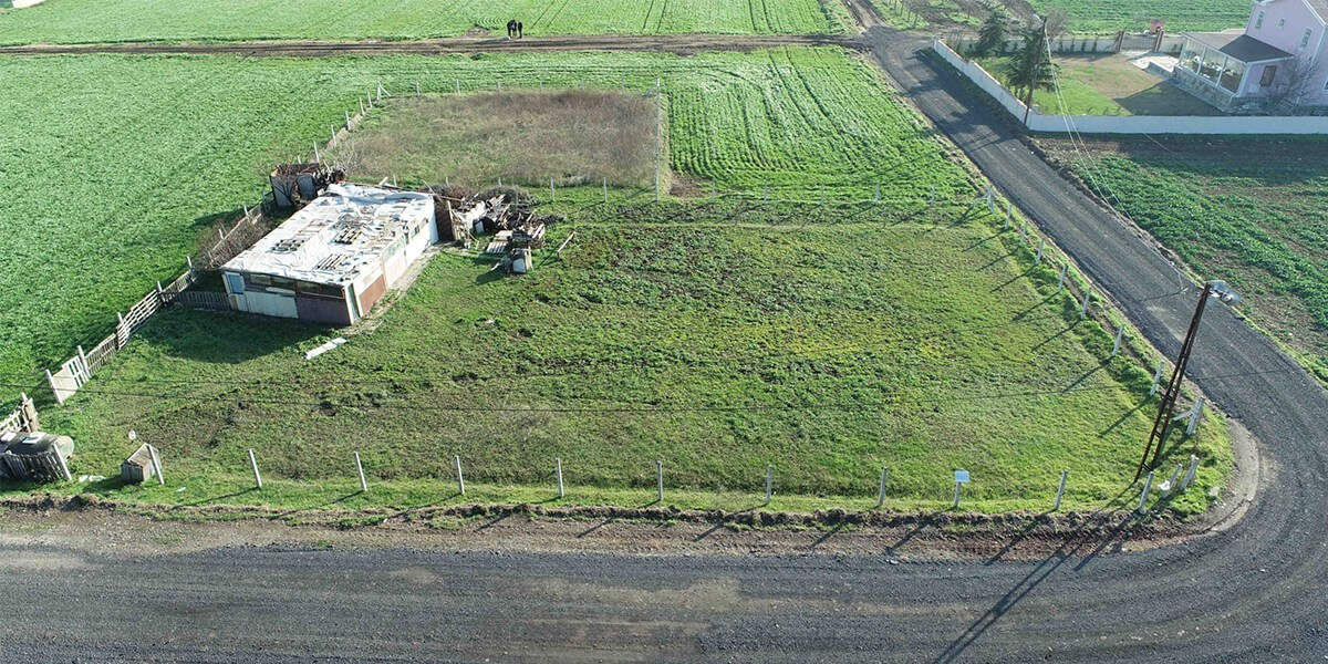 Land Villa imarlı Sea view in Silvery  L-1-59