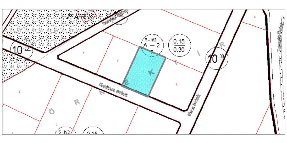 Land  Villa imarlı for sale with natural view L-1-6