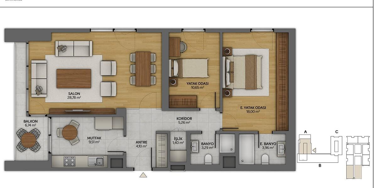 مشروع 3S Topaz Residence الاستثماري