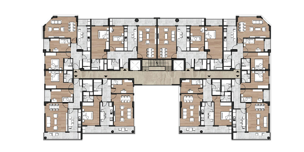 Elmas Istanbul project is in the center of Istanbul