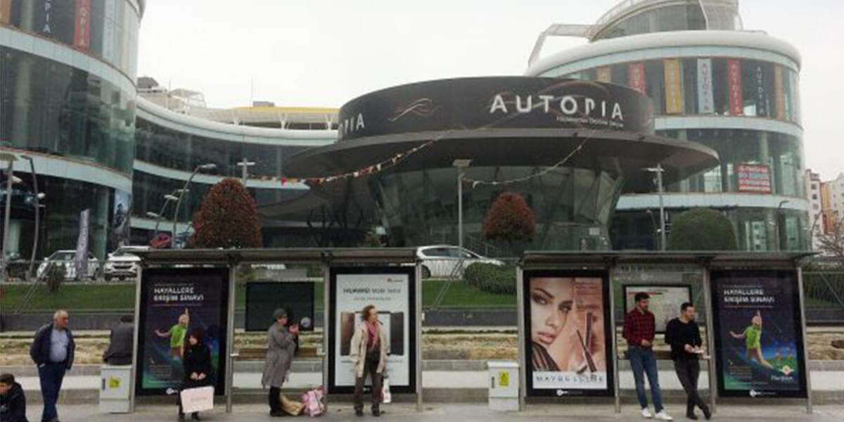 Shops in Autopia Istanbul