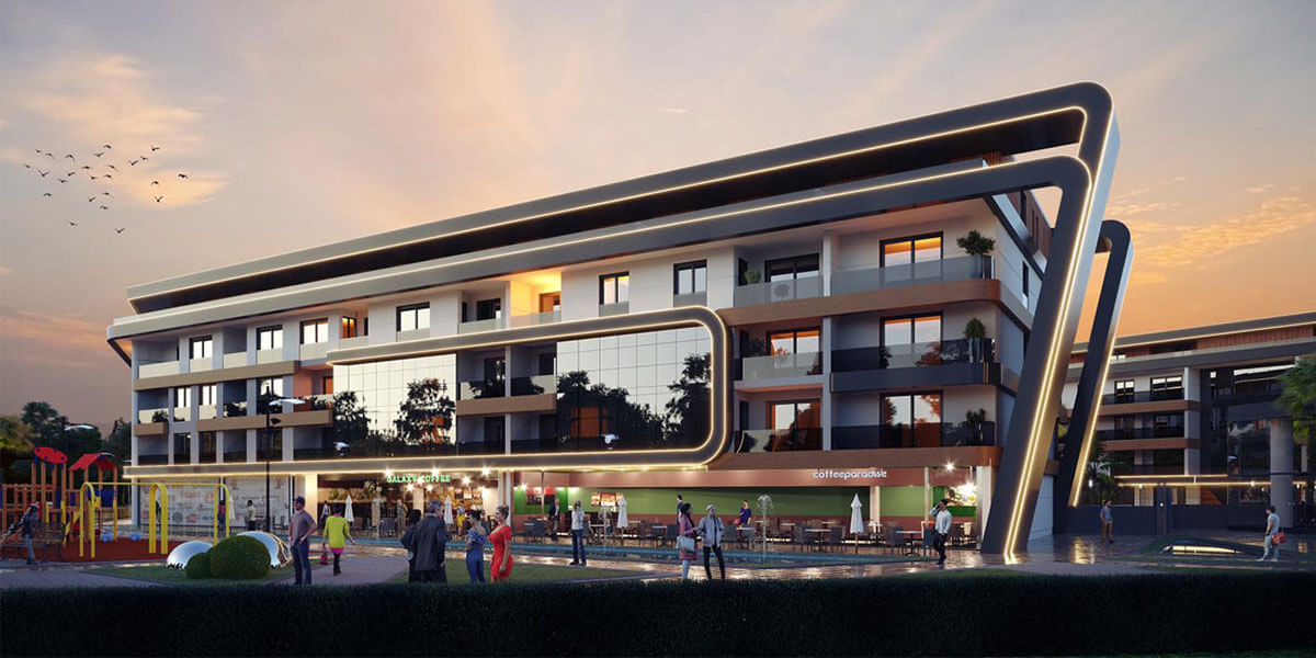 The magical LUWI RESIDENCE project in Izmir