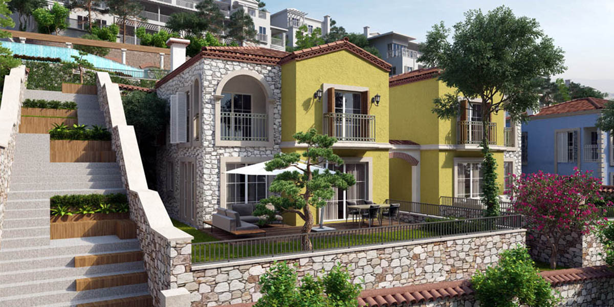 Villarima Kaleköy Villas Project in Izmir