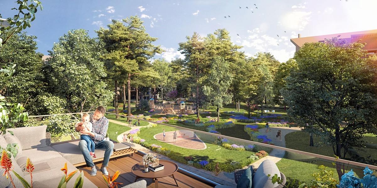 مشروع الطبيعة الخلاب في اسطنبول Ormanköy