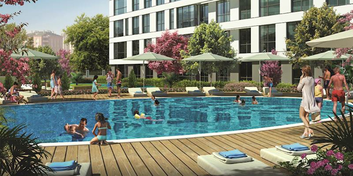 Residential project overlooking the sea and Maltepe islands
